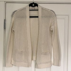 GAP open front cardigan